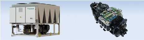 climatizador inverter aire-agua daikin tzb